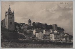 Orbe - L'Eglise Le Chateau - Phototypie No. 3592 - VD Vaud