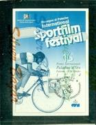 SPORT- SPORTFILM FESTIVAL - PALERMO-CICLISMO- MARCOFILIA - Cartes Postales