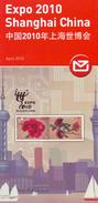 NEW ZEALAND 2010 - Notice Philatélique - Expo Shanghai China - Philatelic Folder Brochures Leaflet Prospectus