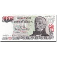 Argentine, 10 Pesos Argentinos, 1983-1985, KM:313a, Undated (1983-1984), NEUF - Argentine