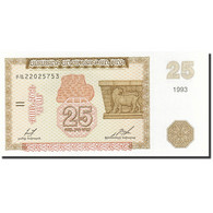 Armenia, 25 Dram, 1993-1995, KM:34, 1993, NEUF - Arménie