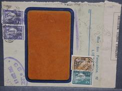 PORTUGAL - Enveloppe Commerciale De Lisbonne Pour La Suisse En 1917 Avec Contrôle Postal, Affr. Plaisant - L 7432 - 1910-... République