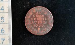 Monnaie Deux Liards, Belgique Pays Bas , Autrichien , 1777 - Royaux / De Noblesse
