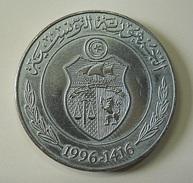Tunisia 1/2 Dinar 1996 - Tunesien