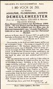 Kaster,Kerkhove, 1945, Adolphe Demeulemeester,Rogge - Devotion Images