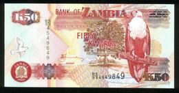 Sambia - Zambia 2009, 50 Kwacha - UNC - BS 03 4549849 - Sambia
