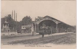 CPA - Aix En Provence (13) - Arrivée Du Train En Gare D'Aix - Aix En Provence