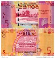 SAMOA        5 Tala        P-38[b]       ND (2012)       UNC - Samoa
