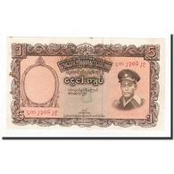 Birmanie, 5 Kyats, 1958, KM:47a, SUP - Myanmar