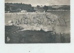 Névez (29)  : Le Plage De Port Manec'h  En 1960 (animé)  GF. - Névez
