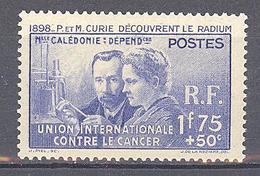 Nouvelle Caledonie: Yvert N° 172*; Pierre Et Marie Curie - New Caledonia