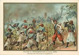 Ref R932- Militaires - Militaria -illustrateur G Germain - Guerre 1870-71-bataille De Wissembourg -tirailleurs Algeriens - Other Wars