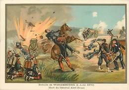 Ref R931- Militaires - Militaria -illustrateur G Germain - Guerre 1870-71-bataille De Wissembourg -general Abel Douai - Other Wars