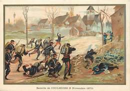 Ref R927- Militaires - Militaria -illustrateur G Germain - Guerre 1870-71- Bataille De Coulmiers - Loiret  - - Other Wars