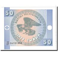 KYRGYZSTAN, 50 Tyiyn, 1993, KM:3, NEUF - Kirghizistan