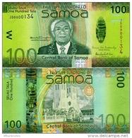SAMOA        100 Tala        P-43     ND (2012)     UNC - Samoa