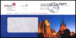 Bund / Privatpost: Kooperation / Cooperation 'MPN [99087 Erfurt] & City-Post [09116 Chemnitz], 2016' - Privatpost