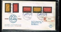 1966 - Netherlands E78 Series + Block - Refugees (ICEM) [A202_017] - FDC