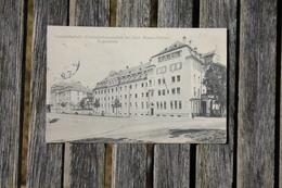 Carte Postale Ancienne En Franchise Prisonnier De Guerre 1914/18 Regensburg Pour Dijon 1915 - Guerra De 1914-18