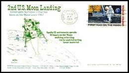 USA: 'Apollo-12 In Space - Mondlandung - Lunar Landing, 1969' - Briefe U. Dokumente