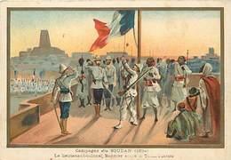 Ref R910- Militaires - Militaria -illustrateur G Germain - Campagne Du Soudan - Bonnier A Tombouctou  - - Mali