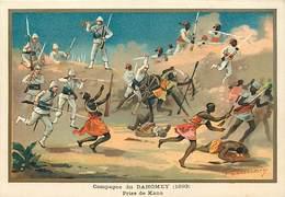 Ref R908- Militaires - Militaria -illustrateur G Germain - Campagne Du Dahomey - Prise De Kana  - - Dahomey