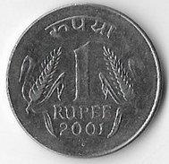 India 2001 1 Rupee [C168/1D] - India