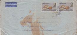 Mauritius Airmail Cover To Pakistan         (Z-2848) - Mauritius (1968-...)
