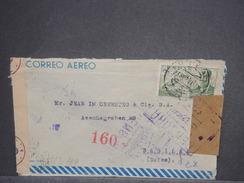 ESPAGNE - Enveloppe De Madrid Pour La Suisse En 1944 Avec Censure , Contrôle Postal, - L 7444 - Marcas De Censura Nacional