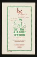 Buvard - A LA TOILE D'AVION X2 - Blotters