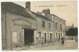 Meung Sur Loire (45 - Loiret) La Haute- Croix - Instruments Agricoles Breton Grelier - Autres Communes