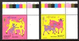 Vietnam 2480/81 Zodiaque , Année De La Chèvre - Astrologia