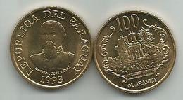 Paraguay 100  Guaranies 1993. UNC KM#177a - Paraguay