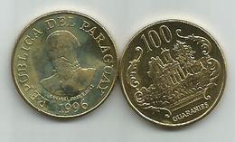Paraguay 100  Guaranies 1996.  KM#177a - Paraguay