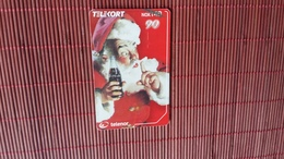 Phonecard Coca Cola Not Perfect Some Sratches On Front And Backside 2 Scans See Photo Used Rare - Noorwegen