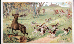 CHROMOS CHOCOLAT GUERN BOUTRON - Chasse Au Cerf - Guerin Boutron