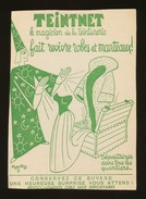Buvard - TEINTNET - Le Magicien De La Teinturerie - Blotters