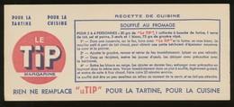 Buvard  -  LE TIP - Recette - SOUFFLE AU FROMAGE - Blotters