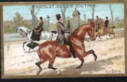 CHROMOS CHOCOLAT GUERN BOUTRON - Au Bois - Guerin Boutron