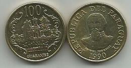 Paraguay 100  Guaranies 1990.  UNC/AUNC KM#177 - Paraguay