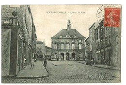 15539   Cpa  BOULAY   MOSELLE  - L'Hôtel De Ville  1922 +++++ ACHAT DIRECT +++++ - Boulay Moselle