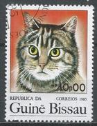 Guinea-Bissau 1985. Scott #652 (U) Cat, Chat * - Guinée-Bissau