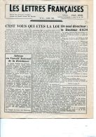 Journal Les Lettres Françaises -mars 1944- - 1939-45