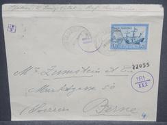SAINT MARIN - Enveloppe Pour La Suisse Avec Contrôle Postal , Période 1941/45 - L 7462 - Saint-Marin