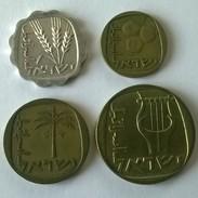Monnaies - Israel - Lot De 4 Monnaies - (1960-1980) - - Israel