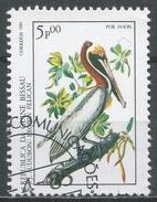Guinea-Bissau 1985. Scott #C50 (U) Audubon Birth Bicent. Brown Pelican, Bird * - Guinée-Bissau