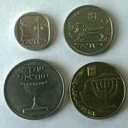 Monnaies - Israel - Lot De 4 Monnaies - (1980-1985) - - Israel