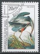 Guinea-Bissau 1985. Scott #C52 (U) Audubon Birth Bicen. Great Blue Heron, Bird * - Guinée-Bissau