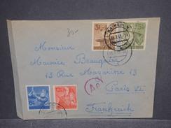 ALLEMAGNE - Enveloppe De Rathenow Pour Paris En 1943 Avec Contrôle Postal , Affranchissement Plaisant - L 7472 - Allemagne