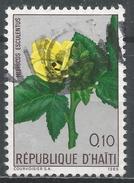 Haiti 1965. Scott #534 (U) Flower, Okra * - Haïti